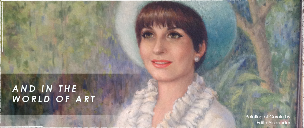 Painting of Carole Sorell by Edith Alexander