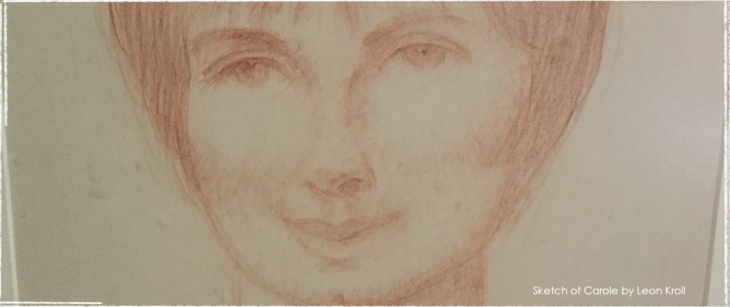 Sketch of Carole by Leon Kroll